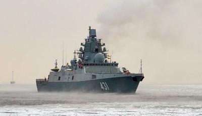 俄海軍2艘新型匿蹤護衛艦同時海試