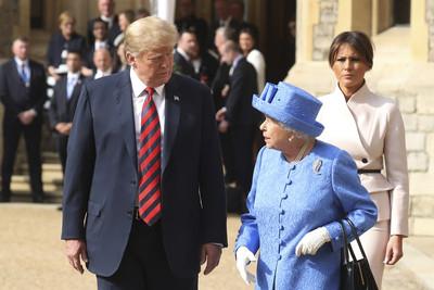 衛報:川普6月至英進行國事訪問