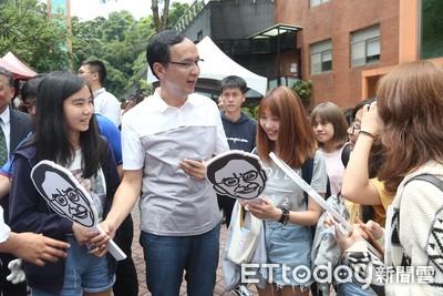 韓國瑜轟黨熱衷權貴 朱:不會覺得我是吧?