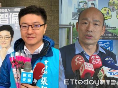 張智倫搭韓流 投入新北中和立委初選