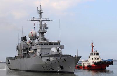 路透社:法國軍艦月初通過台灣海峽