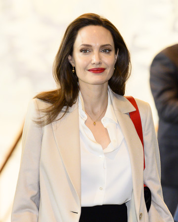 ▲安潔莉娜裘莉(Angelina Jolie)。(圖/達志影像)