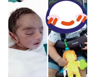 早產嬰撞臉《暮光》男星 1年後更可愛了