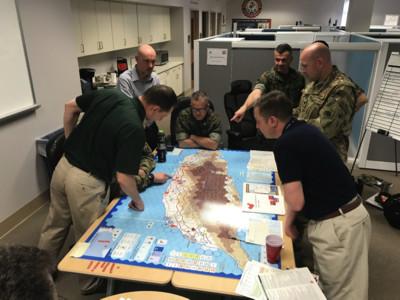 美大兵戰爭桌遊 台灣一秒變戰場