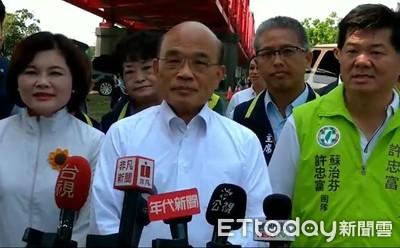 韓國瑜缺席院會 蘇貞昌:一次都沒來很奇怪