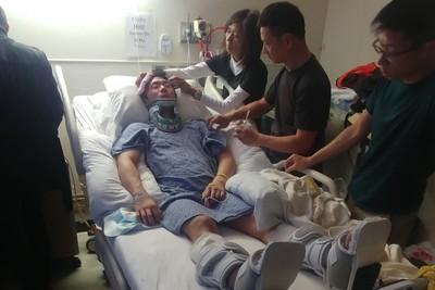 香港體操選手摔傷癱瘓募資1200萬