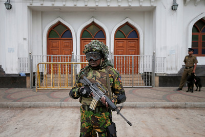 恐攻主謀亡 斯里蘭卡百人與IS有關