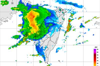 即/強對流胞來了!澎湖雷雨會下2小時