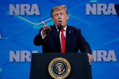 川普宣布退簽UN武器貿易條約