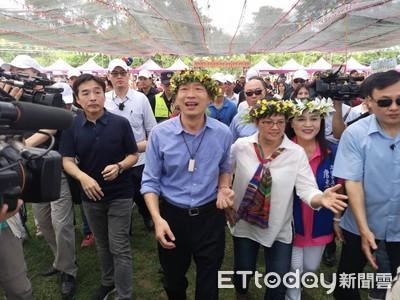 吳敦義企業家捐款韓強調不是貪財