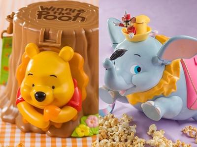 迪士尼推「小熊維尼爆米花桶」