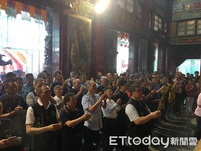 鹿耳門聖母廟 依古禮向天上聖母祝壽