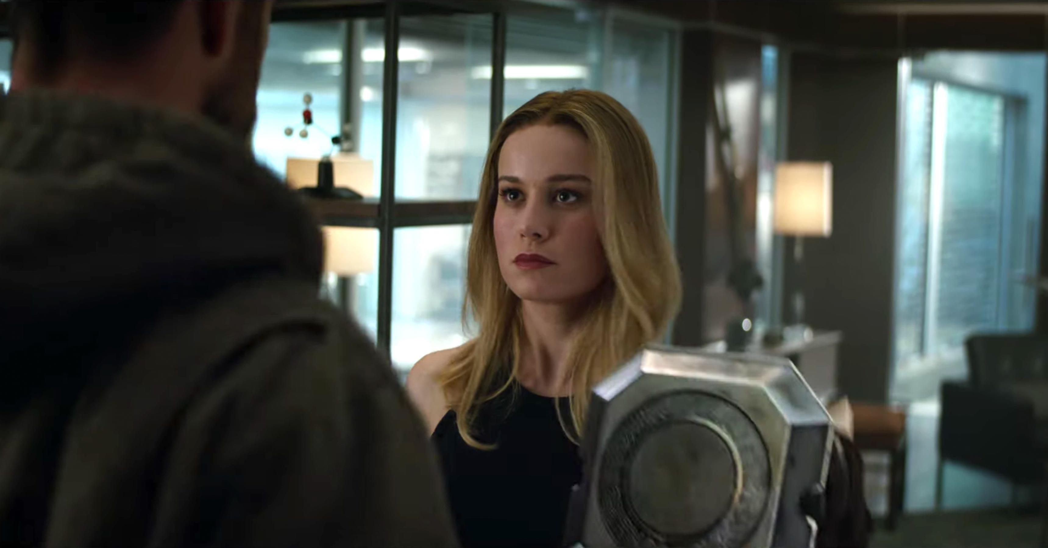 ▲▼「驚奇隊長」布麗拉森在《復仇者聯盟4》劇照 。(圖/翻攝自Youtube/MarvelTW)