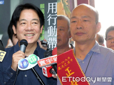 韓國瑜高屏區民調輸賴清德 吳子嘉斷定「蔡賴配會贏」