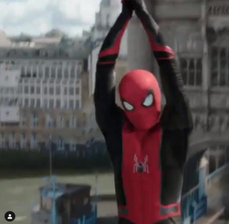 ▲蜘蛛人一直到2015年才被宣布會加入漫威電影宇宙中,由湯姆荷蘭(Tom Holland)飾演。(圖/翻攝自spidermanmovie IG)