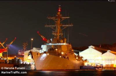 美軍戰艦通過「台海」之戰略含意