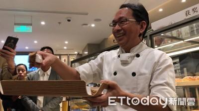 影/上海第二家店開幕 吳寶春現身避談「統獨麵包」