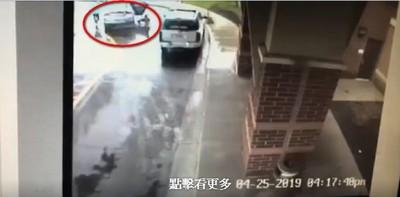 留車上10秒遭綁架 8歲童救姊下車