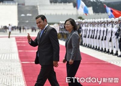 瓜地馬拉總統大讚蔡英文領導卓越