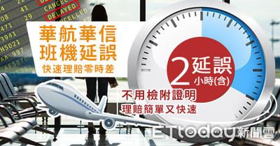 班機延誤理賠逼到零時差 新光產偕航空界拼有感服務