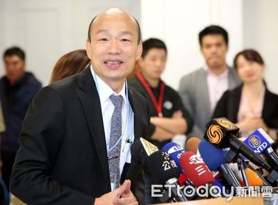 韓國瑜曾任世新老師 今下午兩點回校演講