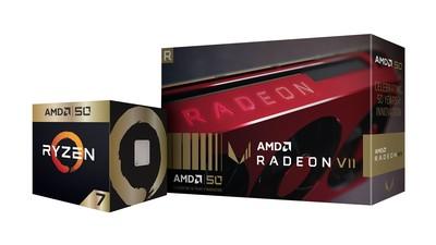 AMD推出黃金版處理器、顯示卡