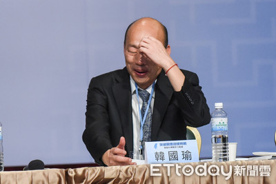 韓國瑜按讚數狂跌 韓粉:被臉書做手腳