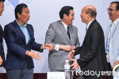 李萬進建議韓國瑜穿灰色、郭董穿藍色