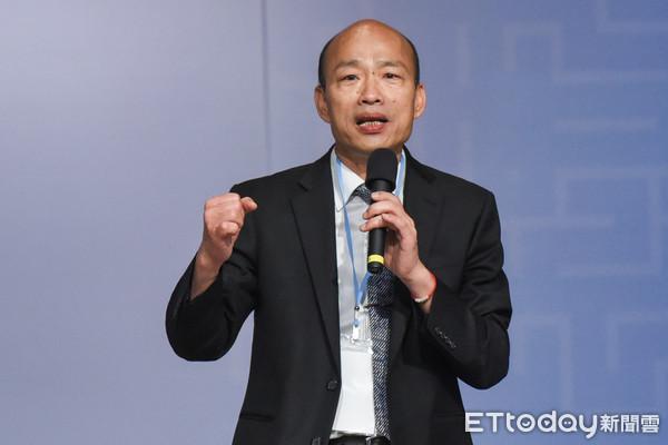 ▲▼高雄市長韓國瑜於「圓桌論壇」發言。(圖/記者林敬旻攝)