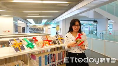 圖書館開館4週年 和名人換好書