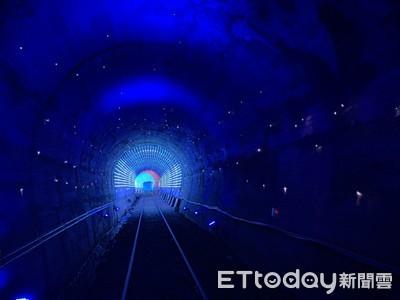 「星空隧道」好美!八斗子一日遊