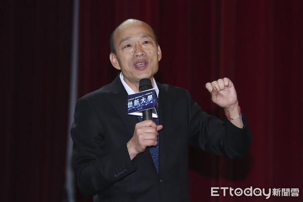 ▲▼韓國瑜市長前進世新演講-韓國瑜。(圖/記者黃克翔攝)