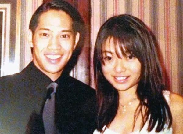 伍智恆22歲就嫁給郭永淳,當時看起來也是幸福的一對。(翻攝自微博)