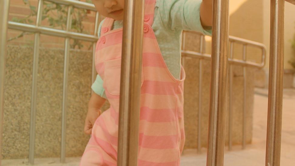 嬰幼兒,女童,寶寶。(圖/記者李佳蓉攝)