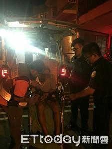 台南獨居翁昏迷家中 警破門送醫救命