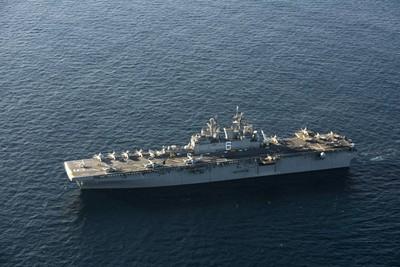 兩棲突擊艦「美利堅號」悄悄赴日部署