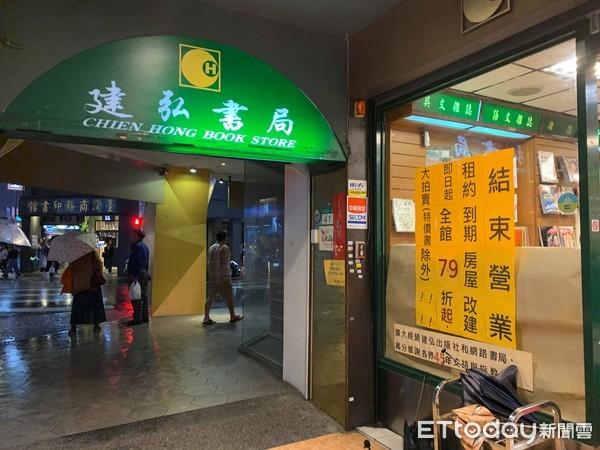 谢谢45年来的支持!重庆南路老书店「建弘书局」熄灯倒数