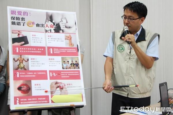 ▲衛福部疾管署副署長羅一鈞多次在疾管署記者會上,宣導預防愛滋病的正確觀念。(圖/疾管署提供)