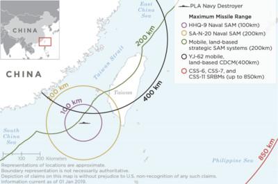 美警告 北京可能對台發動飛彈攻擊