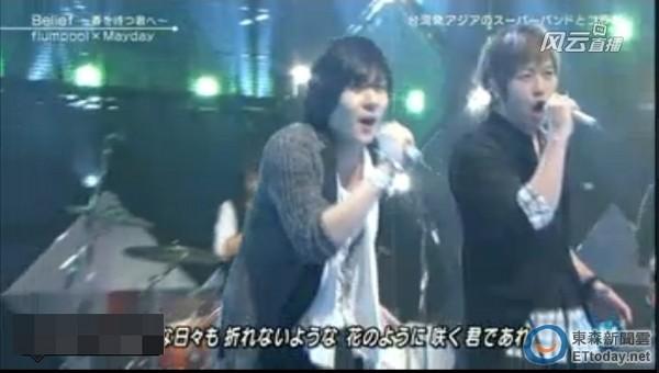 五月天《Music Station》初登場 阿信超樂:看到AKB48