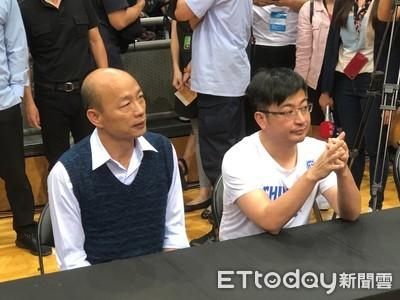 韓國瑜開球 SBL冠軍G1球迷湧現