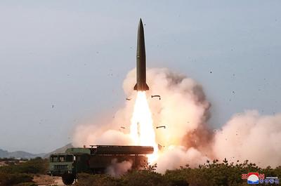 北韓今晨連二射 南韓:短程飛彈