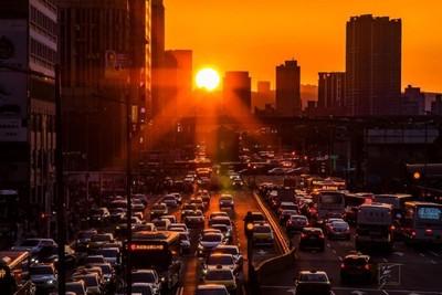絕美「曼哈頓懸日」再降臨台北城