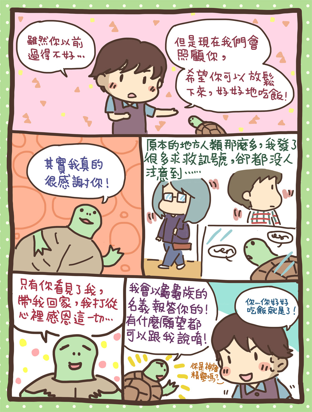 ▲龜龜。(圖/阿油AYO提供,請勿任意翻拍,以免侵權。)