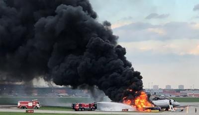 俄航客機起火 黃金55秒逃生卻錯過