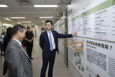 林智堅參訪台灣半導體中心