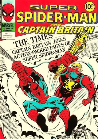 英國隊長、蜘蛛人。