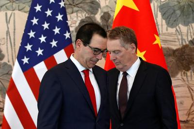 美財長將再赴北京談判 陸媒開轟
