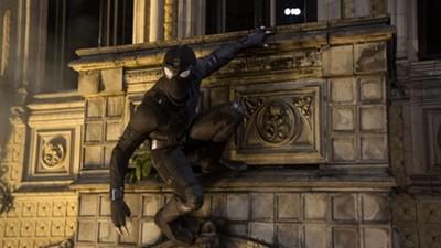 《蜘蛛人:離家日》預告彩蛋!「X戰警」要登場了?夜襲黑蜘蛛裝超帥