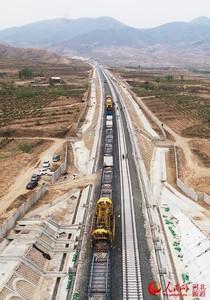 冬奧配套工程 崇禮鐵路鋪軌完成90%